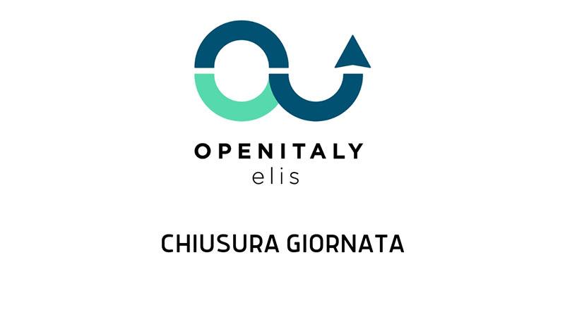 Open Italy 2019 -Chiusura Giornata-