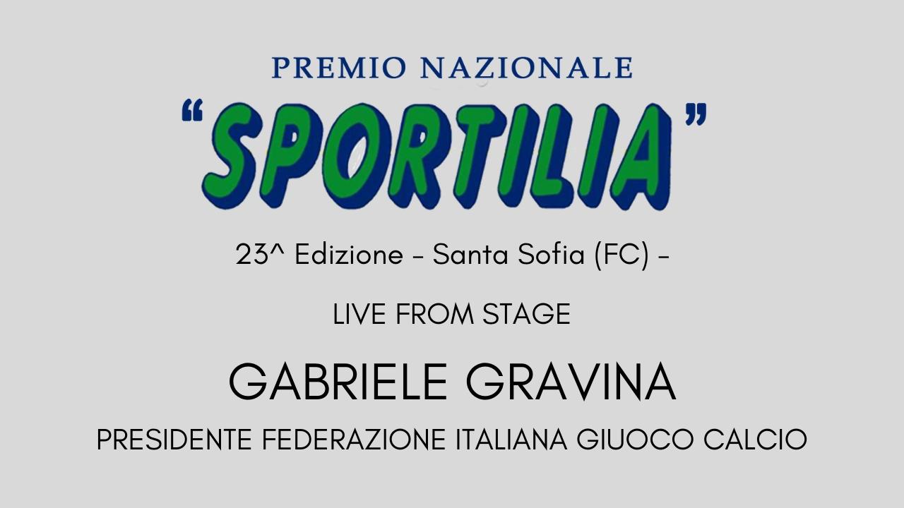 Premio Sportilia 2019 - Live From Stage: Gabriele Gravina -