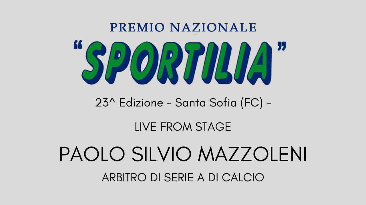 Premio Sportilia 2019 - Live From Stage: Paolo Silvio Mazzoleni -