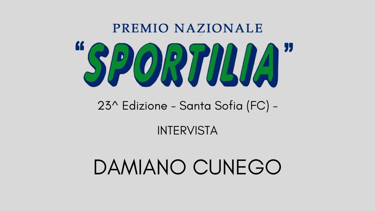 Premio Sportilia 2019 -Intervista a Damiano Cunego -