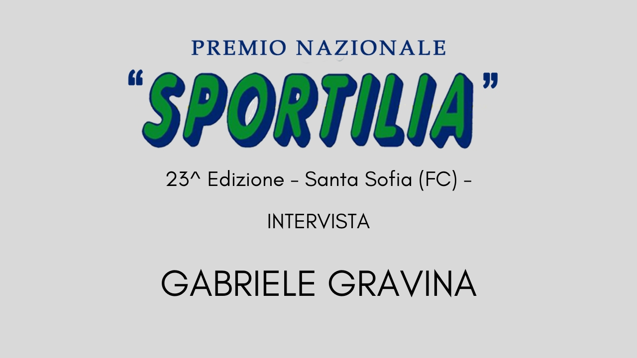 Premio Sportilia 2019 - Intervista a Gabriele Gravina -