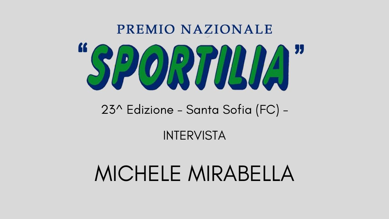 Premio Sportilia 2019 - Intervista a Michele Mirabella -