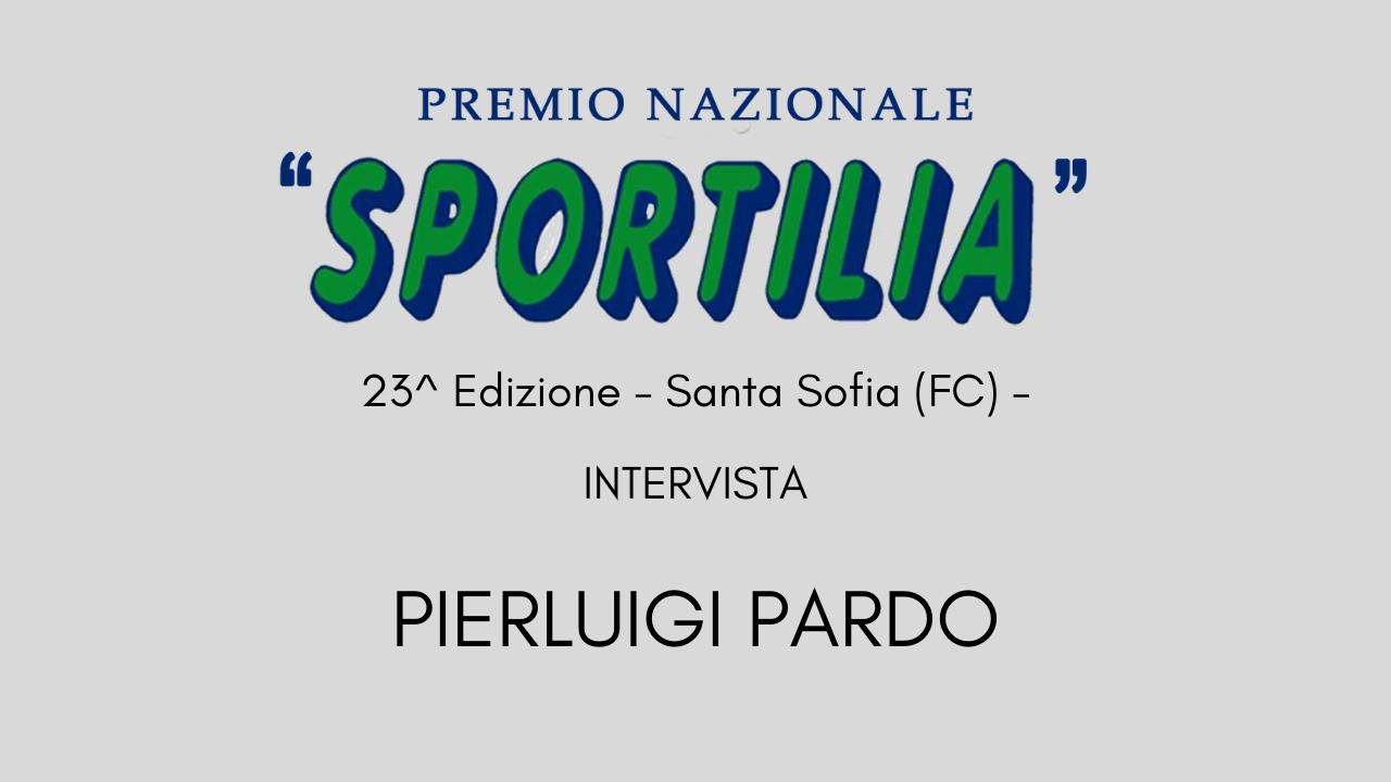 Premio Sportilia 2019 - Intervista a Pierluigi Pardo -
