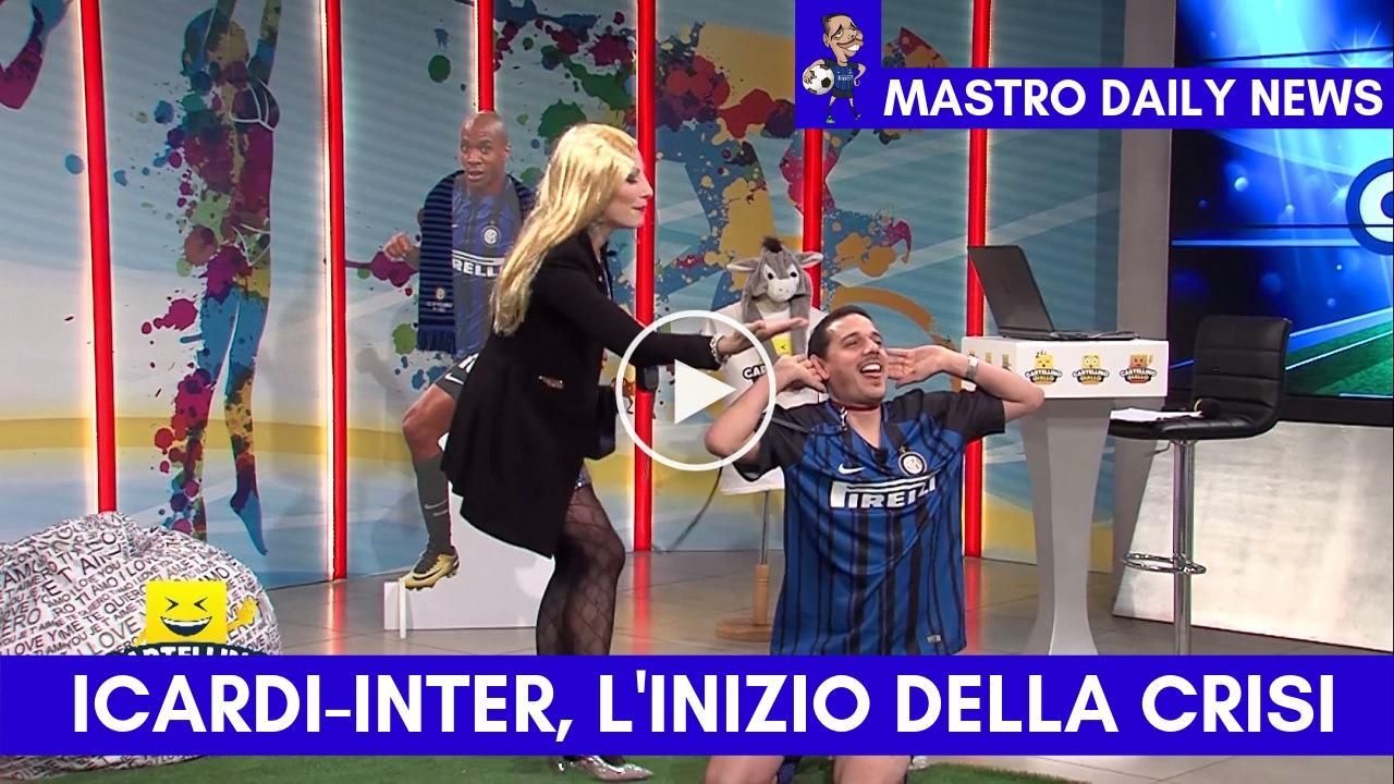Icardi-Inter, l'inizio della crisi