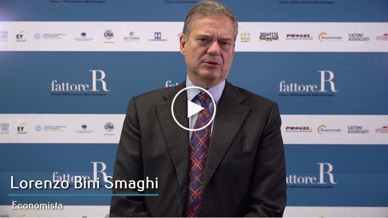 fattore R - Intervista a Lorenzo Bini Smaghi, Economista