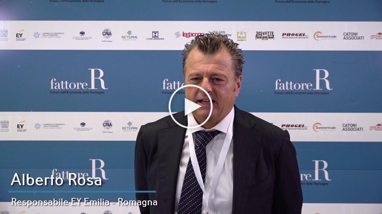 fattore R - Intervista a Alberto Rosa, Responsabile EY Emilia Romagna