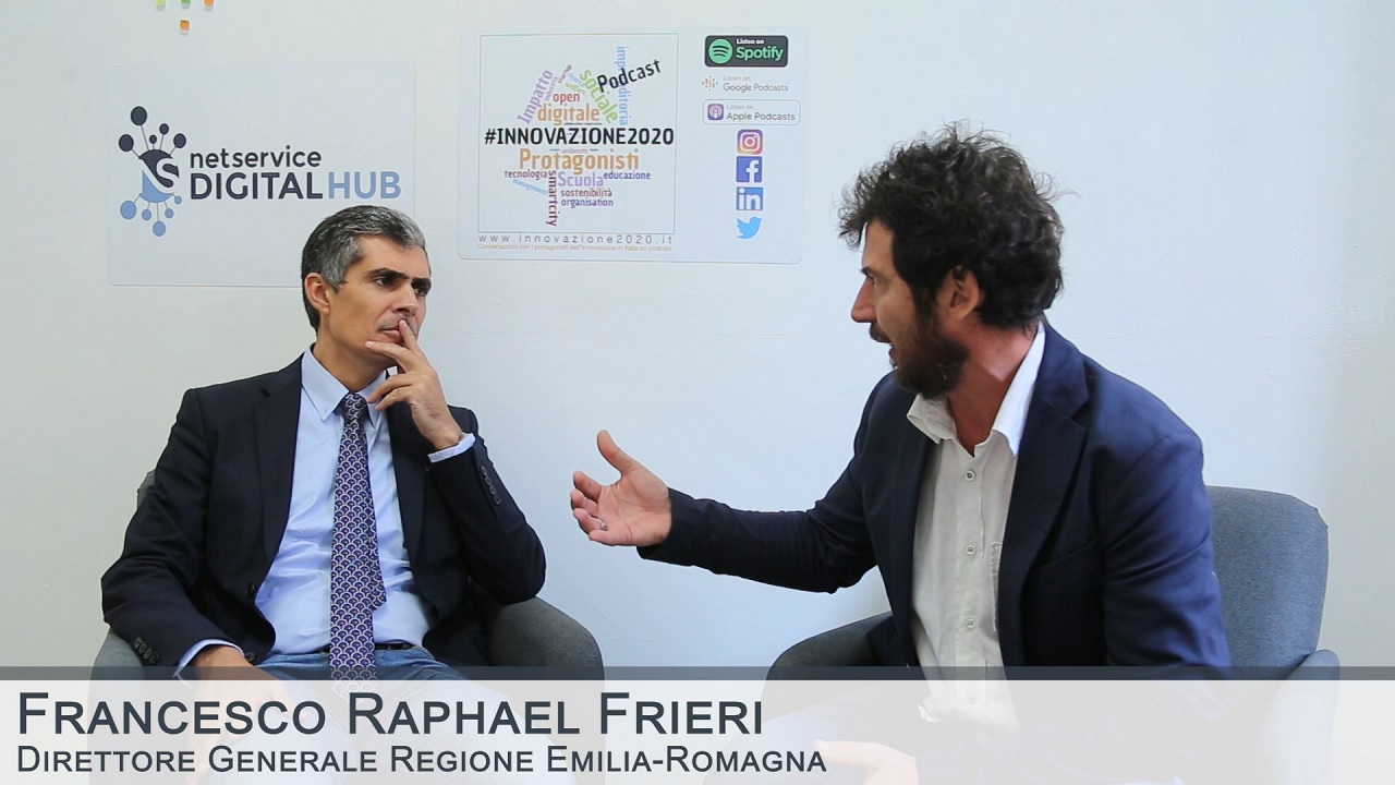 Net Service Digital Hub - Intervista a Francesco Raphael Frieri