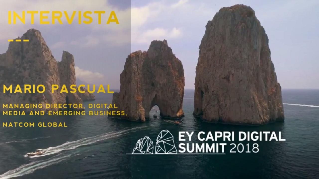 #EYCapri 2018 -Intervista a Mario Pascual-