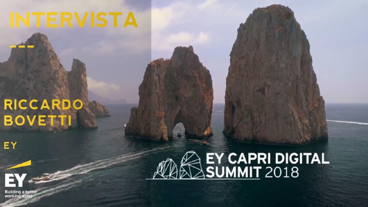 #EYCapri 2018 -Intervista a Riccardo Bovetti-