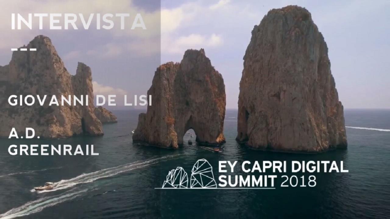 #EYCapri 2018 -Intervista a Giovanni De Lisi-