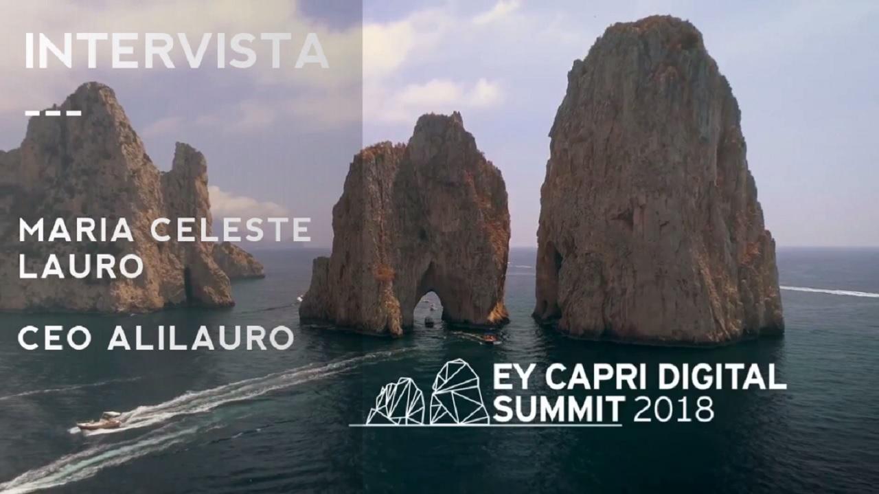 #EYCapri 2018 -Intervista a Maria Celeste Lauro-