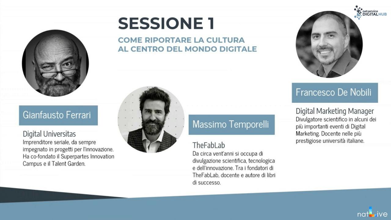 Inaugurazione Net Service Digital Hub Bologna -Diretta Parte 2-