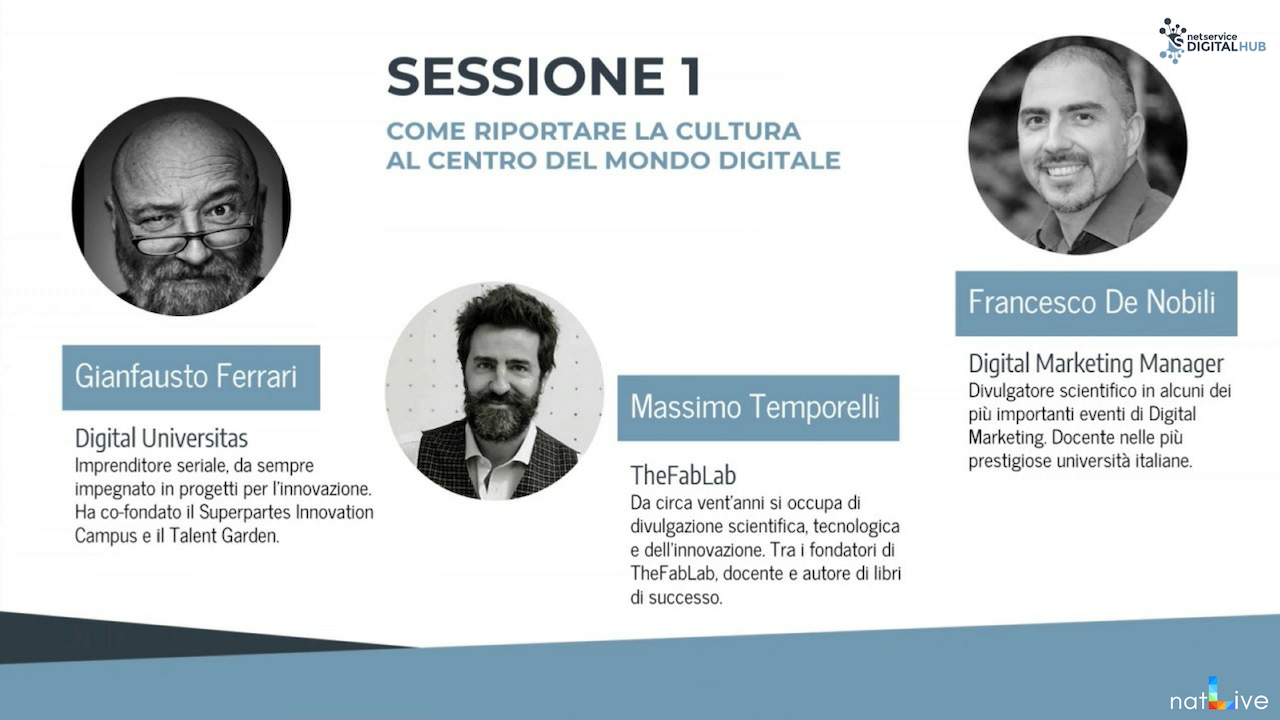 Inaugurazione Net Service Digital Hub Bologna -Diretta Parte 3-