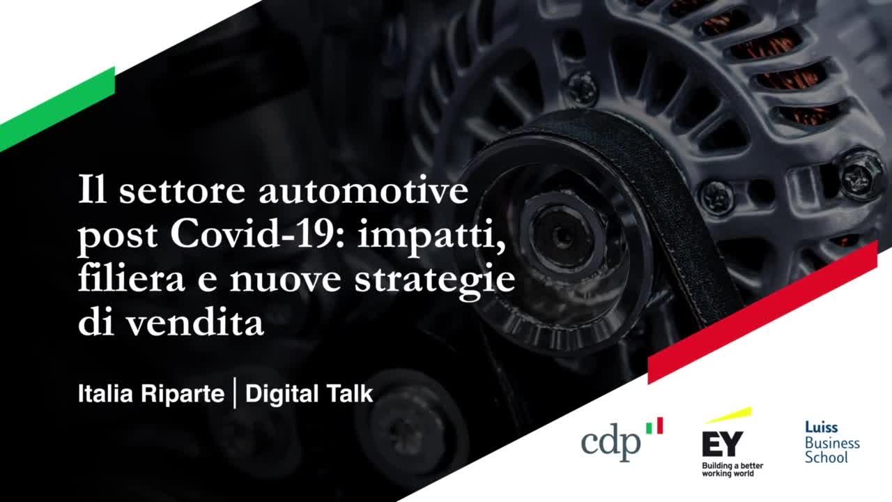 Il settore automotive post Covid-19: impatti, filiera e nuove strategie di vendita
