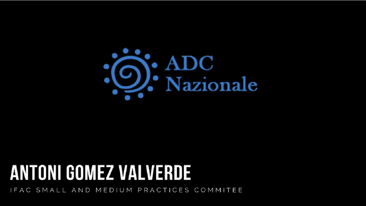 Intervista a Antoni Gomez Valverde -IFAC Small and Medium Practices Committe-e
