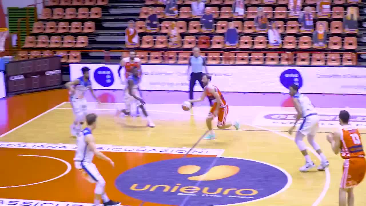 Il Film della Partita - Unieuro Forlì - Basket Latina