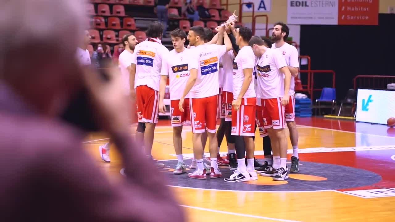 Il Film della Partita -  Unieuro Forlì - Eurobasket Roma