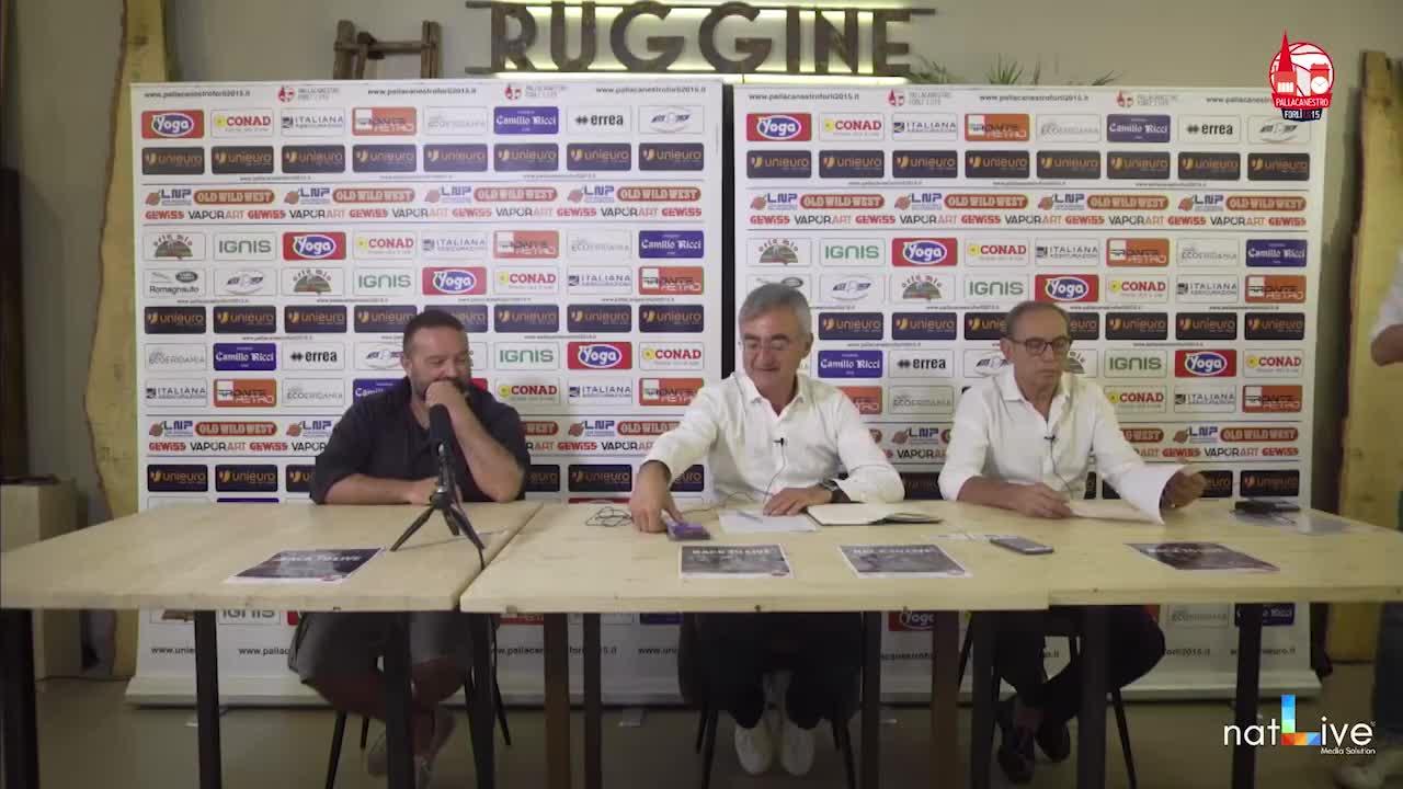 Pallacanestro Forlì 2.015 Presentazione Campagna Abbonamenti 2021-2022