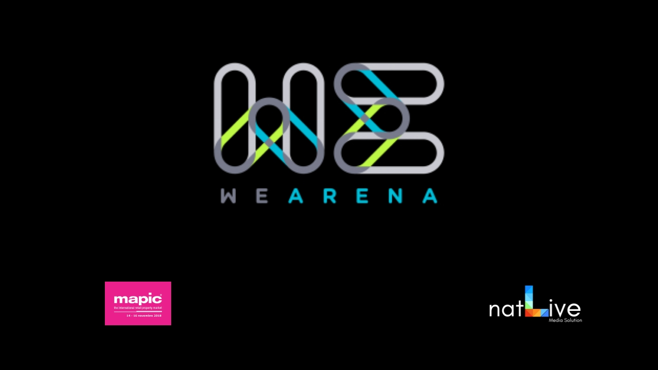 WE ARENA -MAPIC 2018- Intervista Lunga a Francesco Monastero-