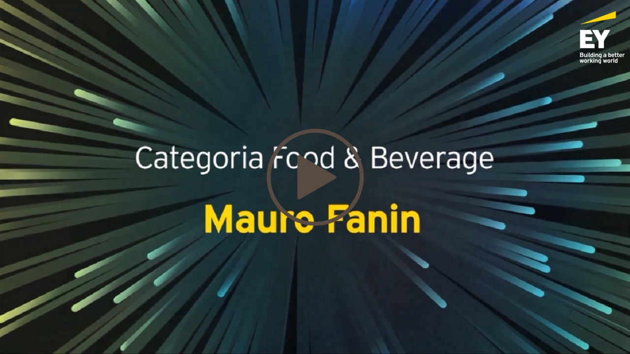 EY -Imprenditore dell'anno 2018 (EOY)- Mauro Fanin- Categoria Food & Beverage-