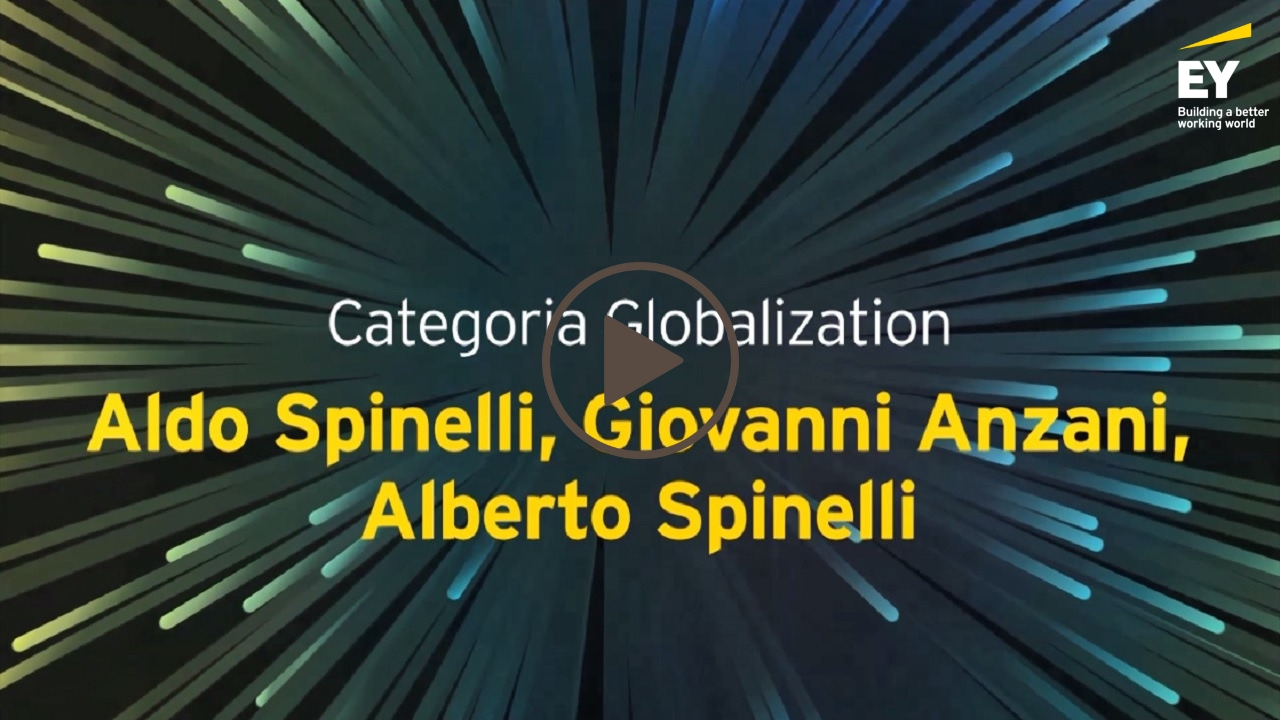 EY -Imprenditore dell'anno 2018 (EOY)- Aldo Spinelli, Giovanni Anzani, Alberto Spinelli- Categoria Globalization-