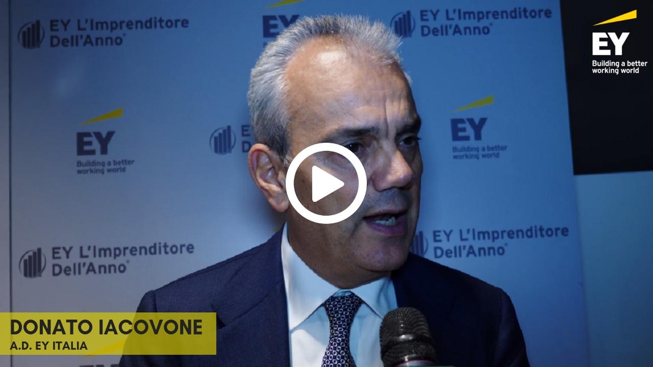 EY -Imprenditore dell'anno 2018 (EOY)- Intervista a Donato Iacovone