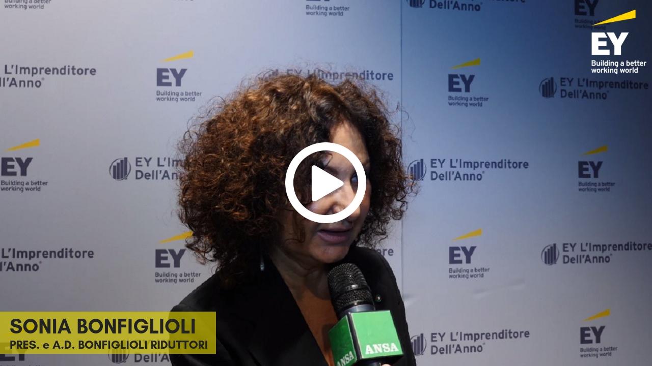 EY -Imprenditore dell'anno 2018 (EOY)- Intervista a Sonia Bonfiglioli