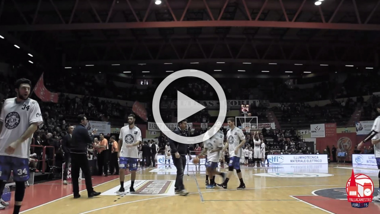 UNIEURO FORLì Vs KLEB BASKET FERRARA -Here We Go!-