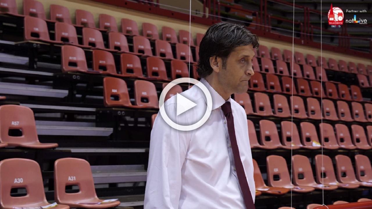 Unieuro Forlì -Treviso Basket -Prepartita all'Unieuro Arena-