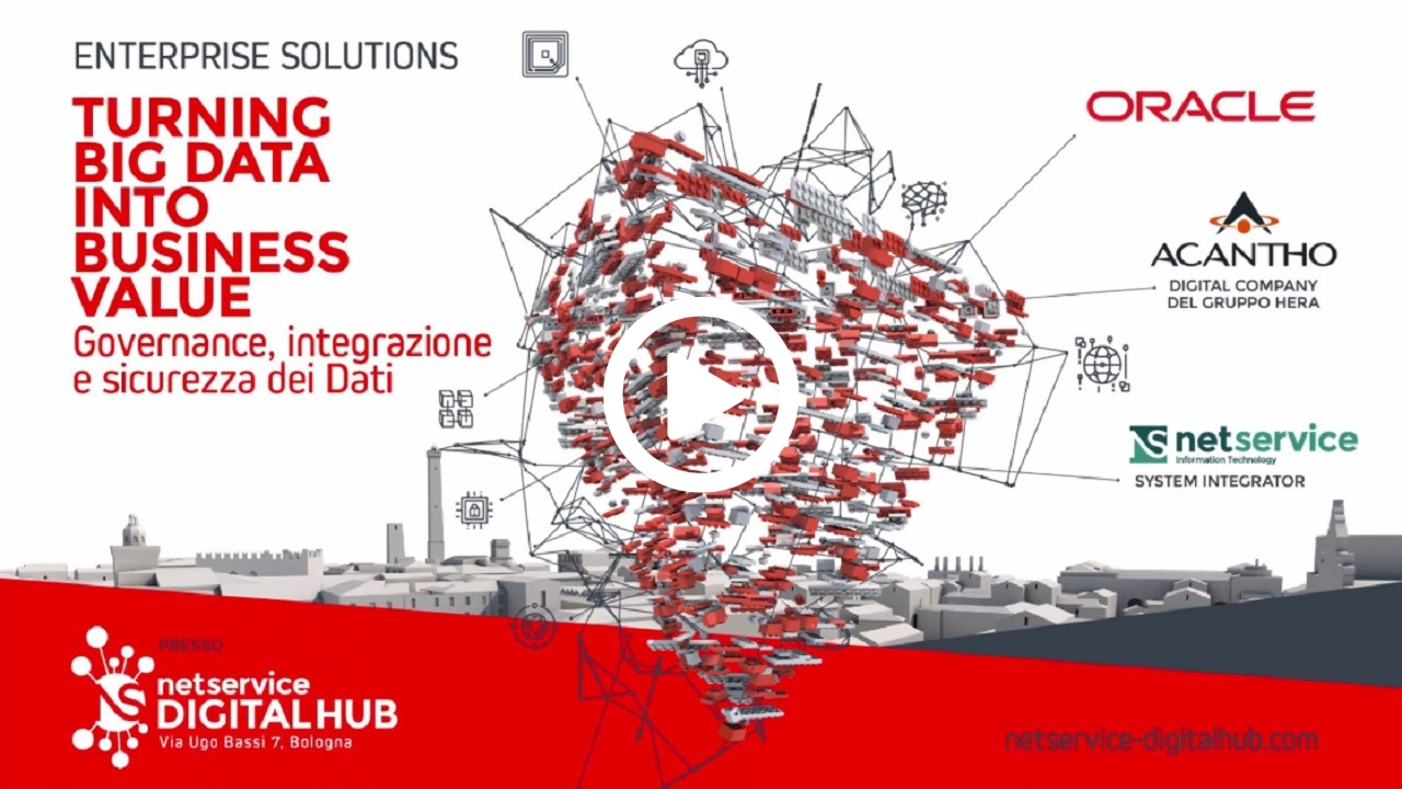 Net Service Digital Hub -Evento 10 Aprile 2019, Turning Big Data Into Business Value-