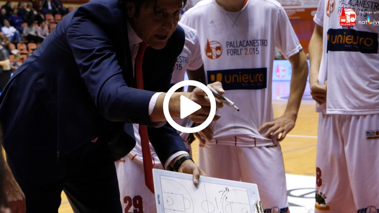 Unieuro Forlì - Andrea Costa Imola -Forza ragazzi! Ultimo Quarto-