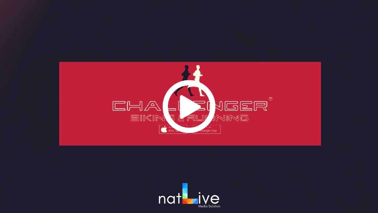 Challenger Biking and Running App -Spot-