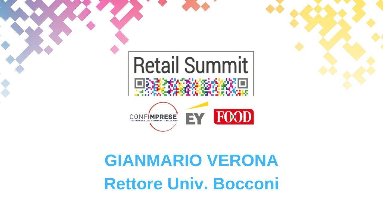 Retail Summit Stresa 2019 -Intervista a Gianmario Verona-