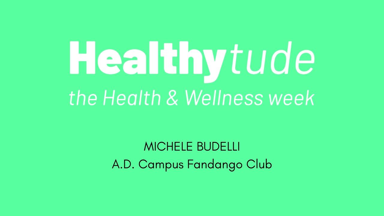 HEALTHYTUDE -Intervista a Michele Budelli-