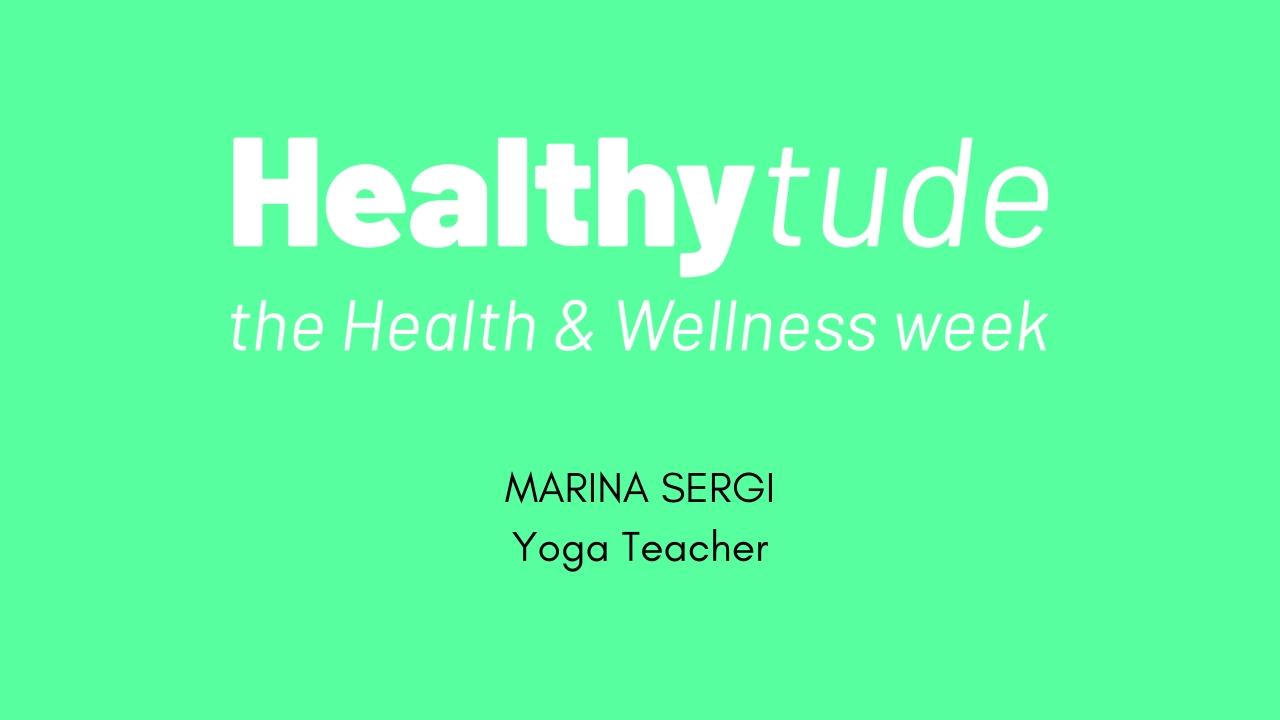 HEALTHYTUDE -Intervista a Martina Sergi-