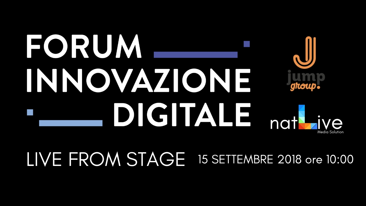 Spot Evento: Forum Innovazione Digitale -Fiera di Forlì, 15 Settembre 2018 by JUMP GROUP