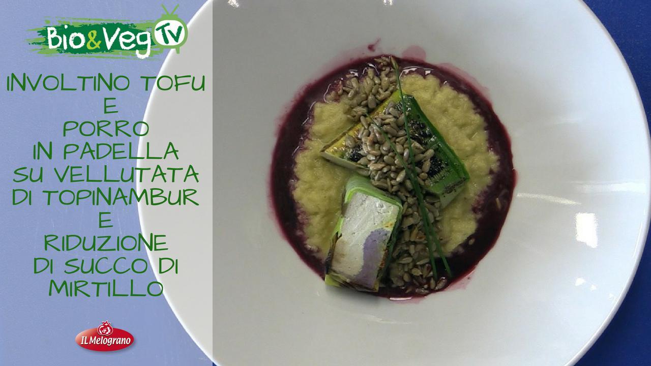 Mattonella di Tofu con Vellutata di Topinambur