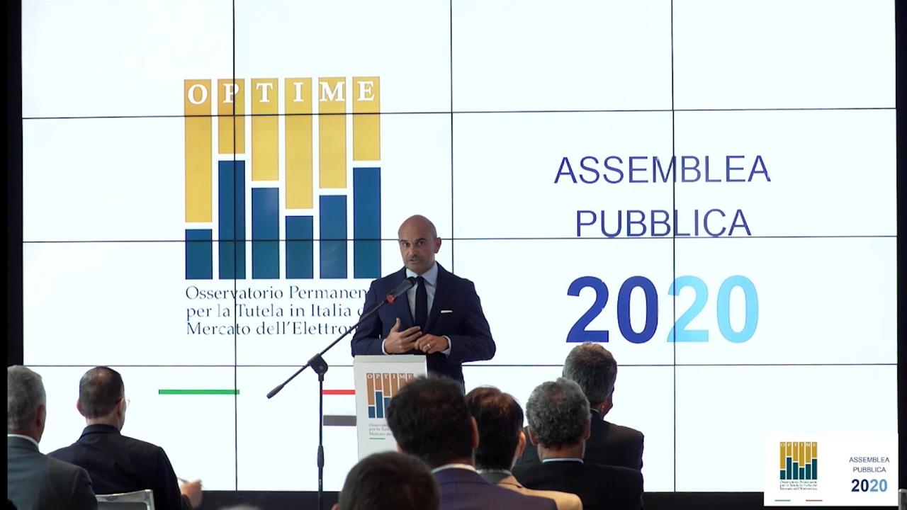 Assemblea Pubblica - Rapporto Optime 2020 - Intervento Presidente Avv. Davide Rossi