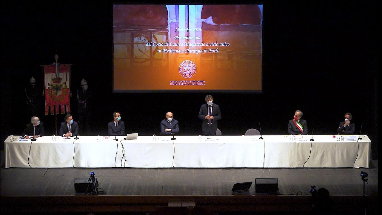 UNIBO - Inaugurazione Corso di Laurea in Medicina e Chirurgia a Forlì