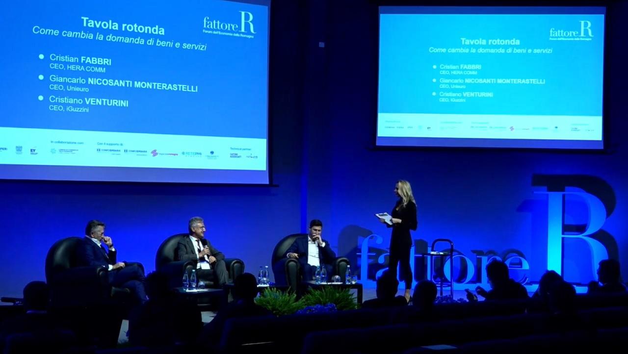 fattore R 2020 - Tavola Rotonda: Giancarlo Nicosanti Monterastelli, Cristian Fabbri e Cristiano Venturini