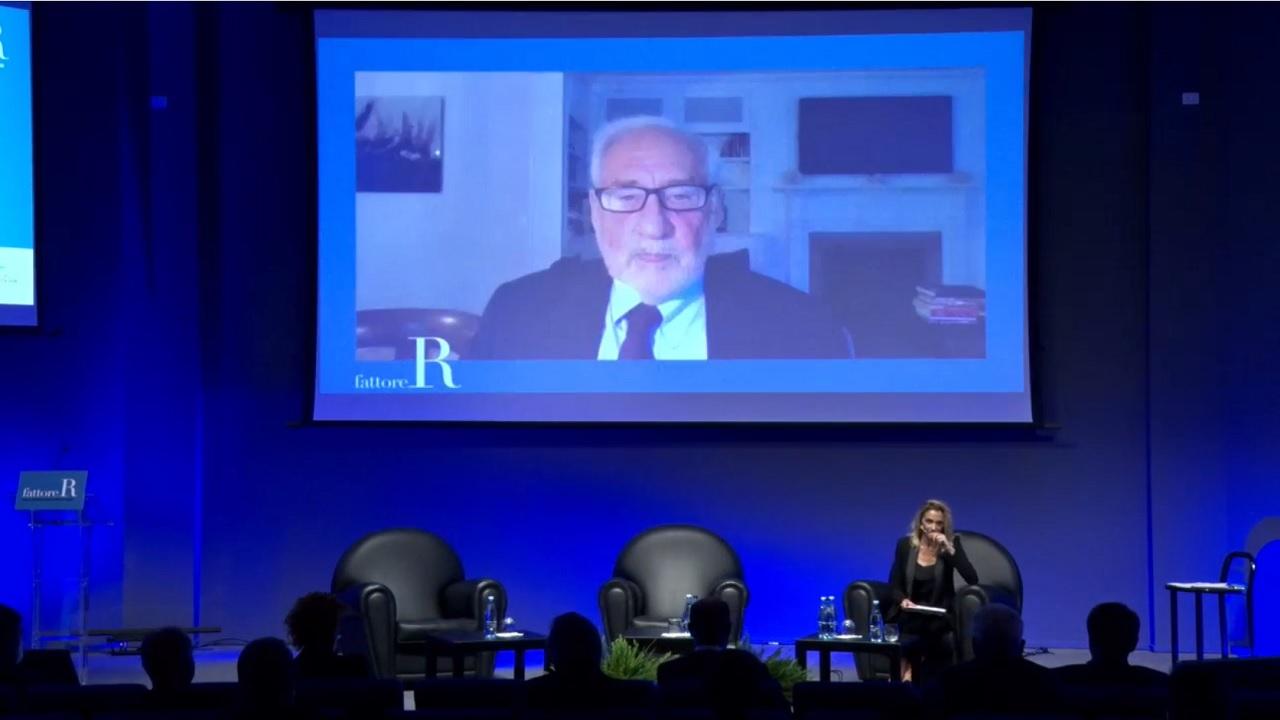 fattore R 2020 - Intervento di Joseph Stiglitz