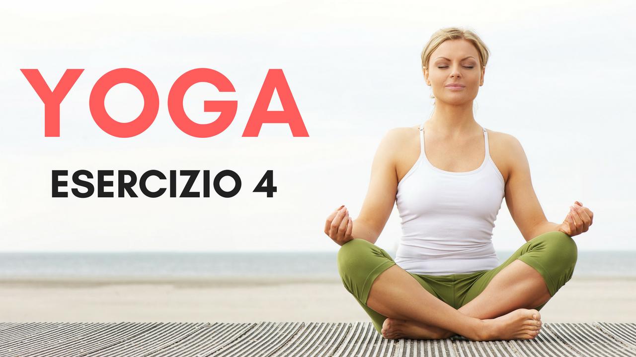 Lezioni di Yoga - Esercizi al Tappeto - Esercizio 2