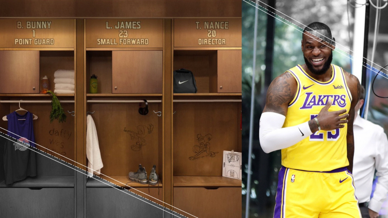LeBron and Bugs Bunny will Meet on the Basketball Court