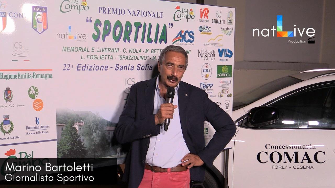 Premio Sportilia 2018 - Marino Bartoletti - Giornalista Sportivo