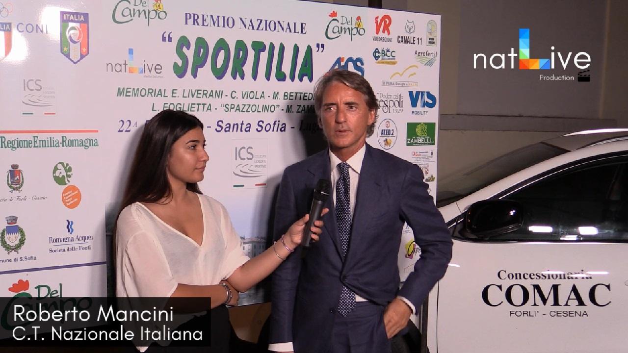 Premio Sportilia 2018 - Roberto Mancini - C.T. Nazionale Italiana